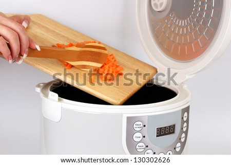 Rice cooker over