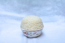 Rice for gods worshiping Chinese beliefs. For pay respects to god or spirits of ancestor. According to the Buddhist belief in Chinese New Year.