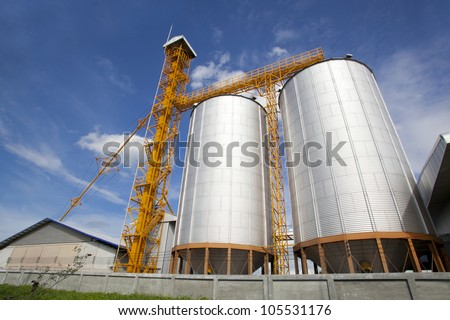 Rice mill process production line in thailand #105531176