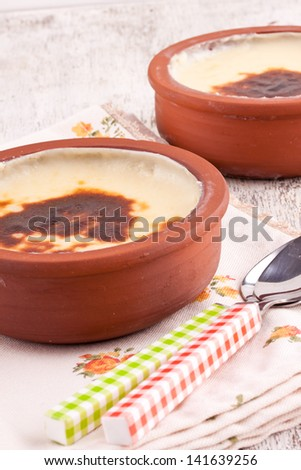 rice pudding Foto stock ©