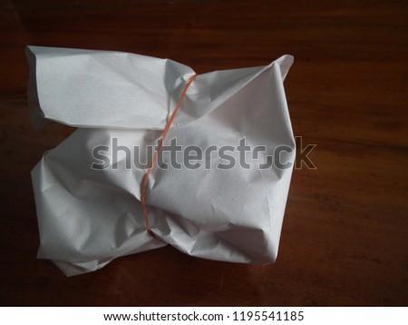 Rice wrap , breakfast