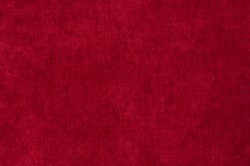 Rich bright red claret satin background velvet  fabric close up