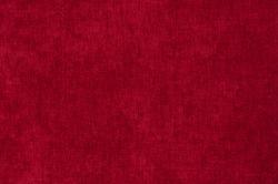 Rich bright red claret satin background velvet  fabric close up