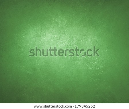 rich green background wall with black vignette border and light center, abstract detailed vintage grunge background texture, soft distressed sponge texture, beautiful Christmas green background color