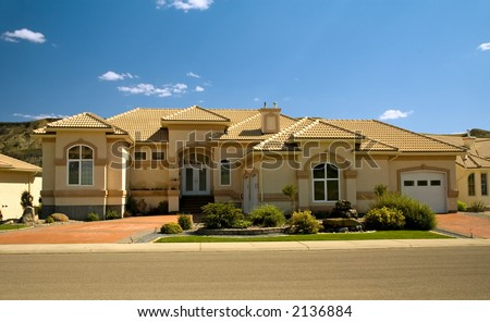 Rich home with double garage