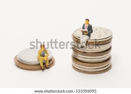 Rich-poor gap image #533396095