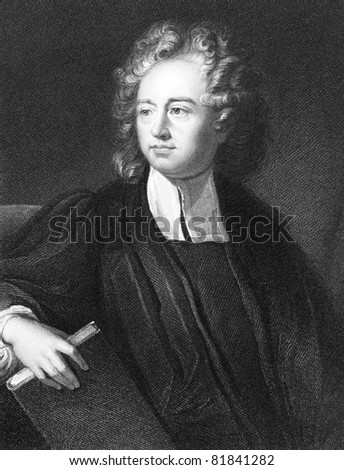 Richard Bentley (1662-1742). Engraved by J.Pofselwhite and published in The Gallery Of Portraits With Memoirs encyclopedia, United Kingdom, 1833.