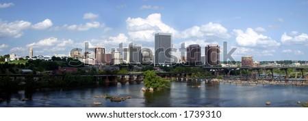 Richmond Skyline Panorama