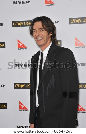 Rick Springfield at the 2010 G'Day USA Australia Week Black Tie Gala at the Grand Ballroom at Hollywood & Highland. January 16, 2010  Los Angeles, CA Picture: Paul Smith / Featureflash