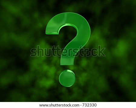 riddler question mark. Riddle Questionmark on a