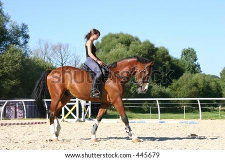 Rider Stock foto ©