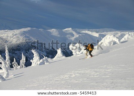 Ridge Skiing