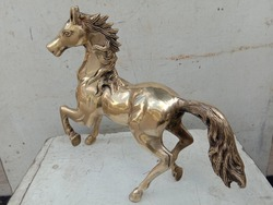 Riding horse used material brass in India