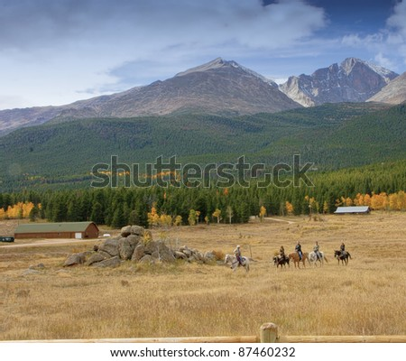 Riding in Rocky Mountain National Park