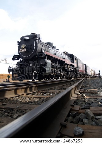 Riding the Rails Again, The Empress, a 1930 Hudson 4-6-4 oil fired steam engine arrives in Edmonton
