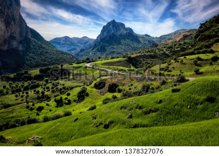Rif Mountains, Morocco Stockfoto ©