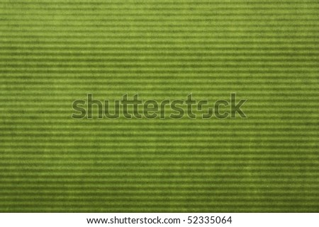 riffled green paper abstract backgroud