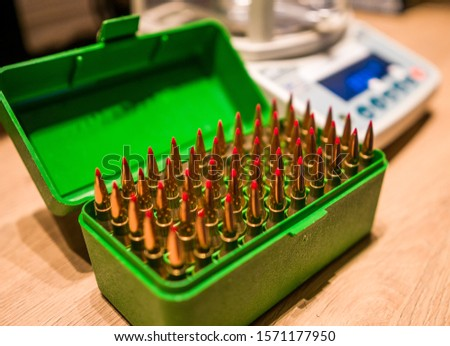 Rifle rounds ready to be fired #1571177950