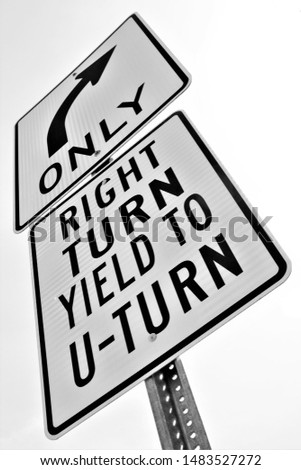 right turn yield to u turn