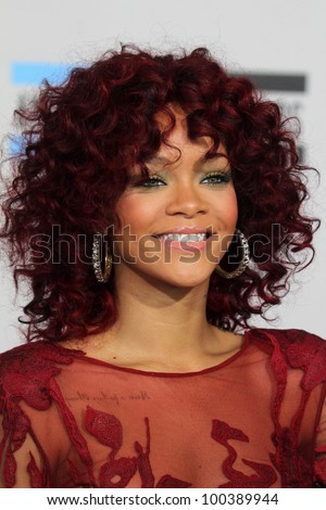Rihanna  at the 2010 American Music Awards Arrivals, Nokia Theater, Los Angeles, CA. 11-21-10