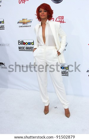 Rihanna at the 2011 Billboard Music Awards Arrivals, MGM Grand Garden Arena, Las Vegas, NV 05-22-11