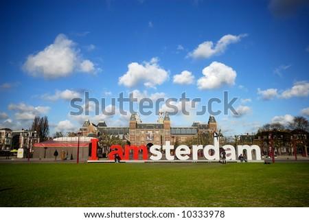 rijksmuseum in Amsterdam the Netherlands