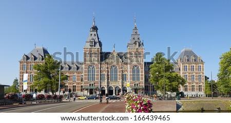 Rijksmuseum in Amsterdam, The Netherlands,