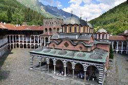 Rila Monastery, Bulgaria.