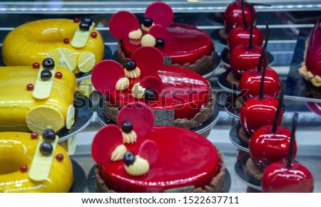 Rimini Italy high confectionery and cuisine