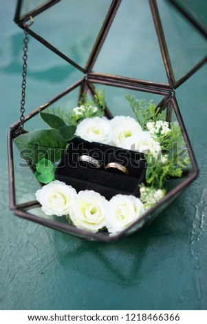 Ring Property Floral Frame #1218466366