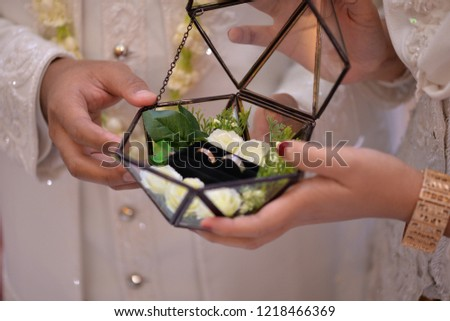 Ring Property Floral Frame #1218466369