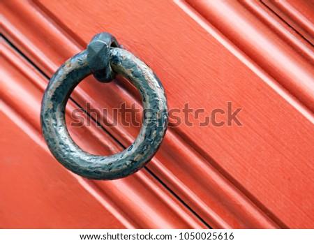Ring-shaped door knocker #1050025616