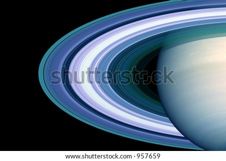rings around the saturn