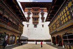 Rinpung Dzong in Bhutan