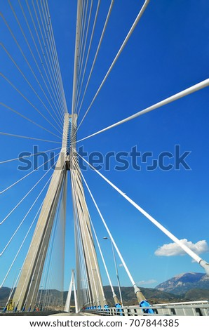 Rio -Antirio cable-stayed bridge #707844385