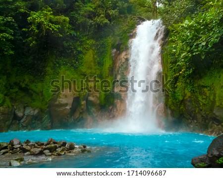Rio Celeste, Tenorio volcano national park, Costa Rica Foto d'archivio ©