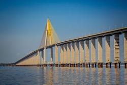 Rio Negro Bridge, Manaus Brazil
