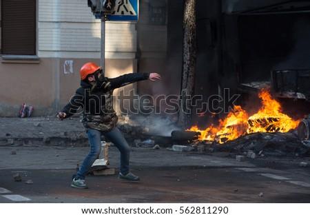 Riots, street protest