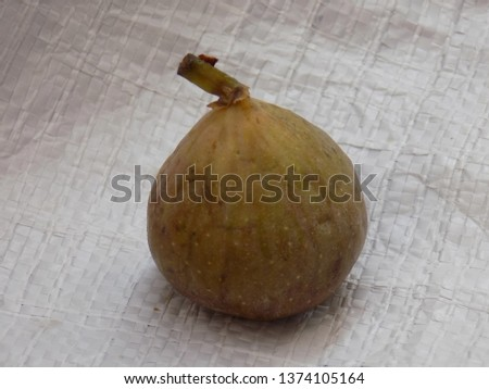 Ripe figs on a white background #1374105164