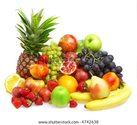 Ripe fresh fruit. Wholesome food. #4742638