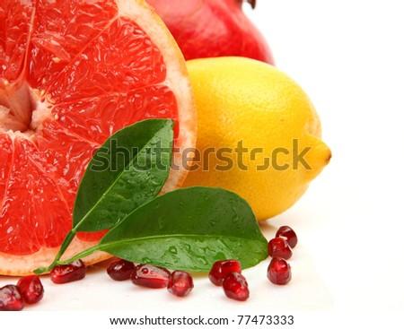 Ripe fruit - stock photo