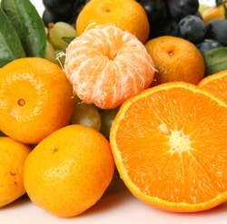 Ripe fruit for a healthy feed
