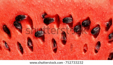 Ripe watermelons, juicy watermelons, a piece of watermelon with a stone, watermelon background