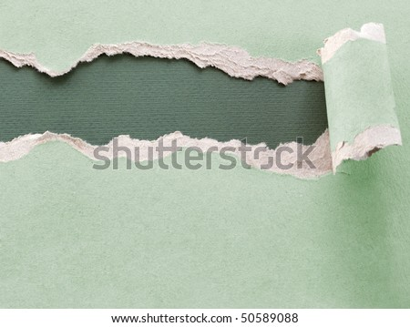 ripped paper