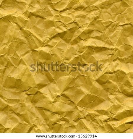 Rippled blank paper sheet