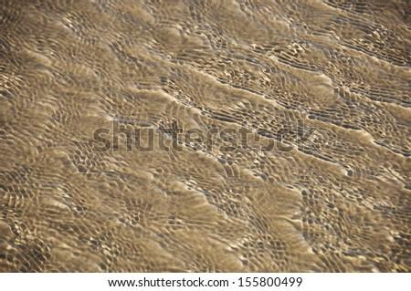 Rippled pattern on sand dunes, Goa, India