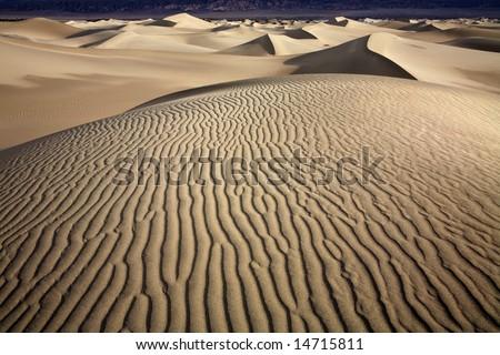 Ripples, Death Valley National Park, California
