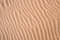 ripples in the sand. nature background