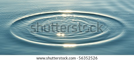 ripples on water