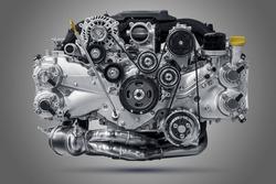 Rise car engine unit. Fly engine.